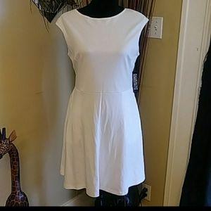 🎅4/$25 NWT New York & Co White Dress